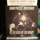Laserdisc IN THE HEAT OF THE NIGHT (1967) Sidney Poitier Lot#2 FS Rare Classic LD
