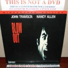 Laserdisc BLOW OUT 1981 John Travolta Lot#2 LTBX LD Movie [ID2588OR]