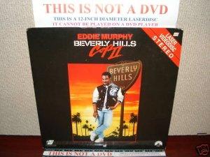 Laserdisc BEVERLY HILLS COP II 1987 Eddie Murphy Lot#4 FS LD Movie [LV 1860]