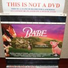"Laserdisc BABE ""The Pig"" 1995 James Cromwell Lot#2 LTBX LD"