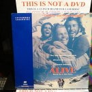Laserdisc ALIVE 1993 Ethan Hawke Lot#2 LTBX SEALED UNOPENED Uruguay LD Movie [1596 AS]