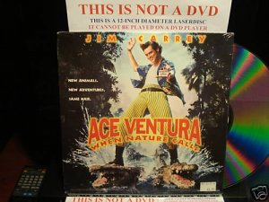 Laserdisc ACE VENTURA WHEN NATURE CALLS Lot#5 LTBX SEALED UNOPENED LD