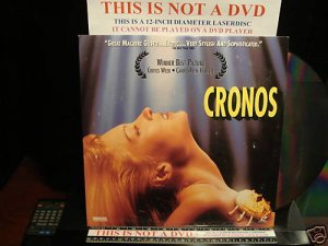 Laserdisc CRONOS 1994 Frederico Luppi Spanish w/English Subtitles RARE LD