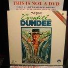 Laserdisc CROCODILE DUNDEE 1986 Paul Hogan Lot#5 FS LD