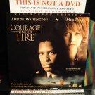 Laserdisc COURAGE UNDER FIRE 1996 Denzel Washington  LTBX THX AC-3 LD