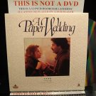 Laserdisc A PAPER WEDDING 1992 FS French w/English Subtitles LD