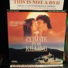 Laserdisc A CLIMATE FOR KILLING 1990 John Beck FS Rita Paris Mystery RARE LD Movie [ID8519ME]