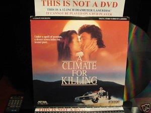 Laserdisc A CLIMATE FOR KILLING 1990 John Beck FS Rita Paris Mystery RARE LD Movie [ID8519ME]