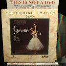 LD Ballets Video THE BOLSHOI AT THE BOLSHOI: GISELLE 1990 Moscow Music Classic Laserdisc [ID8044SP]