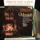 LD Music Video MESSIAH FOUNDLING HOSPITAL VERSION 1754 Lot#2 Frideric Handel Laserdisc [PA-86-174]