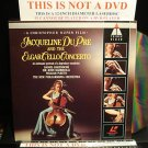 LD Music Video JACQUELINE DU PRE AND THE ELGAR CELLO CONCERTO 1982 Laserdisc [2292-46240-6]