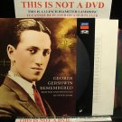 LD Music Video GEORGE GERSHWIN REMEMBERED: RHAPSODY IN PIANO 1987 Laserdisc [071 211-1 LH][
