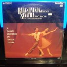 LD Music Video BARYSHNIKOV DANCES SINATRA AND MORE 1984 American Ballet Laserdisc [PA-90-008]