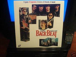 LD Music Video BACK BEAT 1993 Sheryl Lee DLX LTBX Flick PolyGram Laserdisc [800 631 771-1]