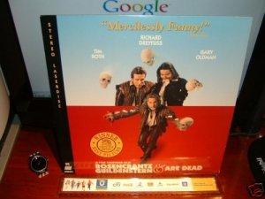 Laserdisc ROSENCRANTZ & GUILDENSTERN ARE DEAD 1991 Richard Dreyfuss Lot#2 FS LD