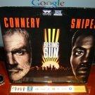 Laserdisc RISING SUN 1993 Sean Connery Lot#2 SWE THX LD
