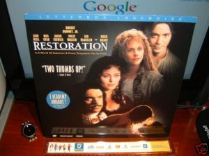 Laserdisc RESTORATION 1994 Robert Downey Jr Lot#2 LTBX LD