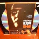 Laserdisc REASON TO DIE 1990 Wings Hauser Anneline Kriel FS LD