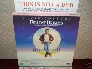 Laserdisc FIELD OF DREAMS 1989 Kevin Costner Lot#3 FS LD