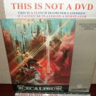 Laserdisc EXCALIBUR 1981 John Boorman Lot#3 FS LD