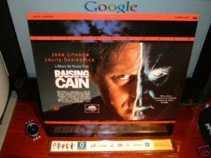 Laserdisc RAISING CAIN 1992 Brain DePalma Lot#2 LTBX LD