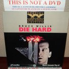 Laserdisc DIE HARD (Part 1) Bruce Willis Lot#2 SWE Japan Pressing LD