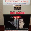 Laserdisc DIE HARD (Part 1) Bruce Willis Lot #1 SWE Japan Pressing LD