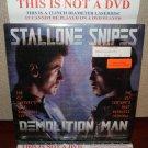 Laserdisc DEMOLITION MAN 1993 Wesley Snipes Lot#8 LTBX LD