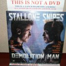 Laserdisc DEMOLITION MAN 1993 Wesley Snipes Lot#5 LTBX LD