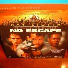 Laserdisc NO ESCAPE 1994 Ray Liotta Lot#2 LTBX LD