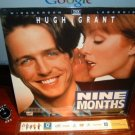 Laserdisc NINE MONTHS 1995 Hugh Grant Lot#3 LTBX THX  SEALED UNOPENED LD