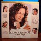 Laserdisc MY BEST FRIEND'S WEDDING 1997 Julia Roberts DLX LTBX LD
