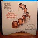 Laserdisc MUCH ADO ABOUT NOTHING 1993 Michael Keaton Lot#3 FS LD