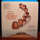 Laserdisc MUCH ADO ABOUT NOTHING 1993 Michael Keaton Lot#1 FS LD