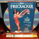 Laserdisc MISS FIRECRACKER 1989 Holly Hunter FS LD