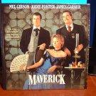 Laserdisc MAVERICK 1994 Mel Gibson Lot#2 LTBX LD