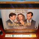 Laserdisc MAD DOG AND GLORY 1993 Uma Thurman Lot#2 LTBX LD