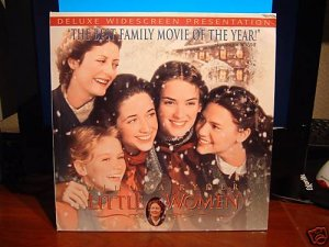 Laserdisc LITTLE WOMEN 1982 Winona Ryder DLX LTBX LD
