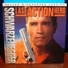 Laserdisc LAST ACTION HERO 1995 Arnold Schwarzenegger Lot#2 DLX LTBX LD