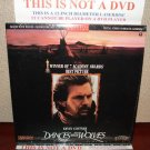 Laserdisc DANCES WITH THE WOLVES 1990 Kevin Costner Lot#6 LTBX LD