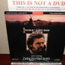 Laserdisc DANCES WITH THE WOLVES 1990 Kevin Costner Lot#2 LTBX LD