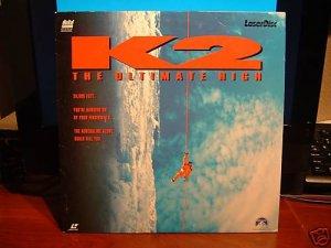 Laserdisc K2: THE ULTIMATE HIGH 1992 Michael Biehn FS LD