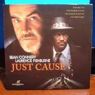 Laserdisc JUST CAUSE 1995 Sean Connery LTBX LD