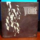 Laserdisc JUDGMENT AT NUREMBERG (1961) Burt Lancaster FS Classic LD