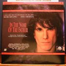 Laserdisc IN THE NAME OF THE FATHER 1993 Daniel Day-Lewis Lot#3 LTBX LD