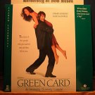 Laserdisc GREEN CARD 1991 Gerard Depardieu FS LD