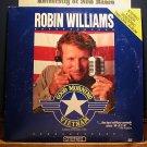 Laserdisc GOOD MORNING VIETNAM 1988 Robin Williams Lot#3 FS LD