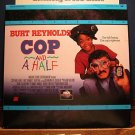 Laserdisc COP AND A HALF 1993 Burt Reynolds Lot#1 LTBX LD