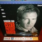 Laserdisc CLEAR AND PRESENT DANGER 1994 Lot#5 LTBX THX LD