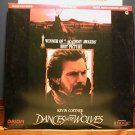 Laserdisc DANCES WITH THE WOLVES 1990 Kevin Costner Lot#5 FS LD